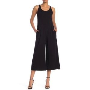 New EILEEN FISHER Knitted Wide Leg Cami Jumpsuit M